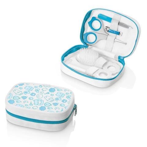 Imagem de Kit Higiene e Cuidados do Bebê Azul Multikids