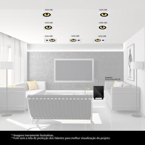 Imagem de Kit Home Theater 7.1 JBL Caixa de Embutir CI8R + CI8S + Sub 210 Residencial Gesso