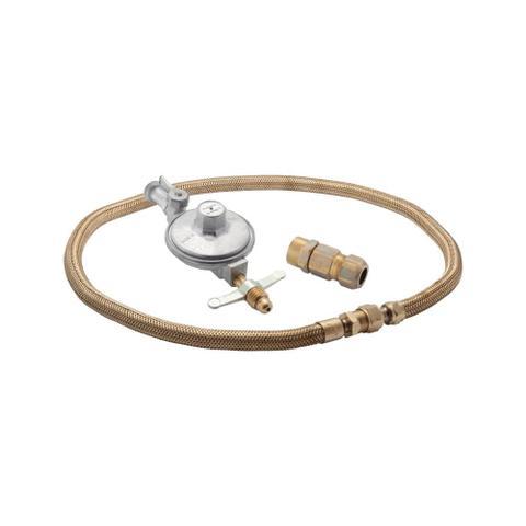 Imagem de Kit Instalação Gás GLP de Botijão  para Fogão/Cooktop e Forno de embutir  com regulador