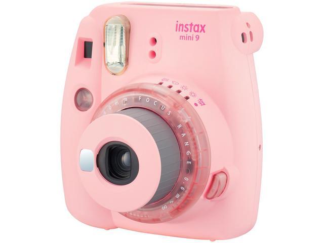 Imagem de Kit Instax Mini 9 Fujifilm Rosa Chiclé