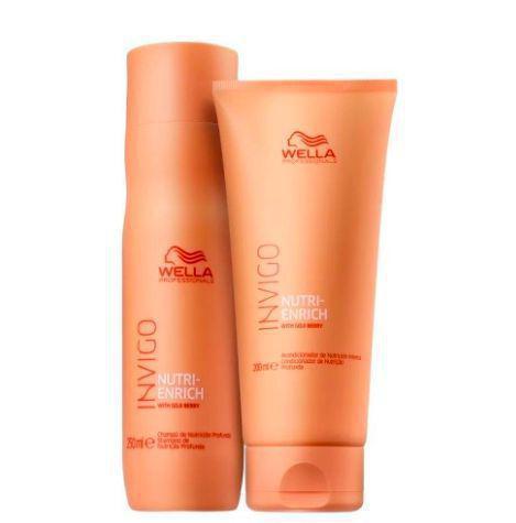 Imagem de Kit Invigo Nutri-Enrich Shampoo & Condicionador - Wella