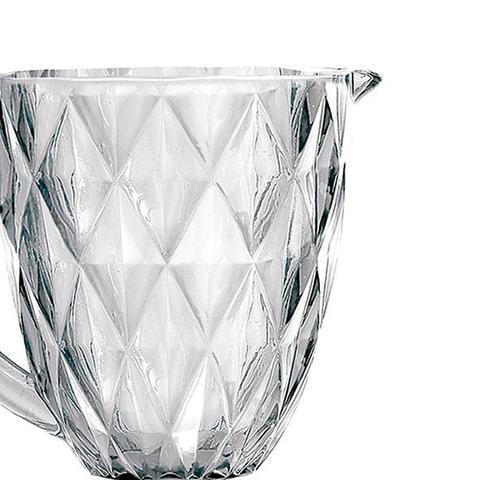 Imagem de Kit Jarra 1 L + 6 Taças Diamante Clear Casamiga