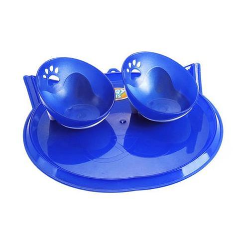 Imagem de Kit Jogo Americano Para Gatos Azul Truqys Pets