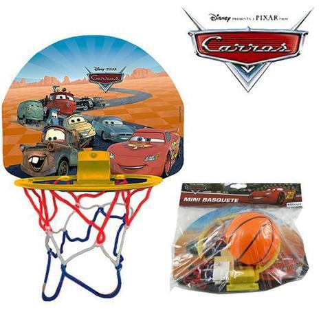 Imagem de Kit jogo de basquete mini carros com tabela+ aro + bola