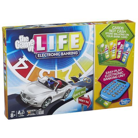 Imagem de Kit Jogo Game of Life Eletrônico + Jogo de Raciocínio - Rubik's Cubo Mágico - Hasbro