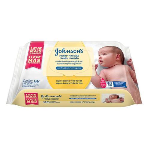 Imagem de Kit Johnson's Baby Toalhinhas Recém-Nascido c/ 384 unidades