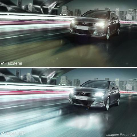 Imagem de Kit Lampadas Super LED Fiat Grand Siena 2012 a 2015 Farol Neblina