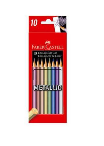 Imagem de Kit Lápis de Cor FaberCastell Super Soft + Metallic + Pastel