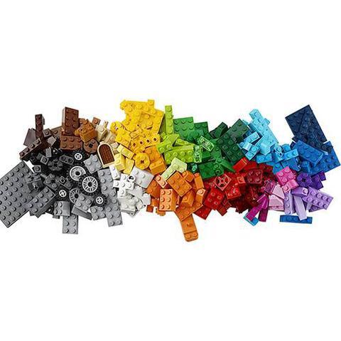 Imagem de Kit LEGO Classic - Caixa Média de Peças Criativas Com Base Verde 10696