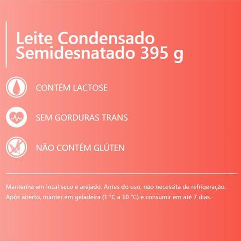 Imagem de Kit Leite Condensado Piracanjuba 395g Tetra Pak 3un