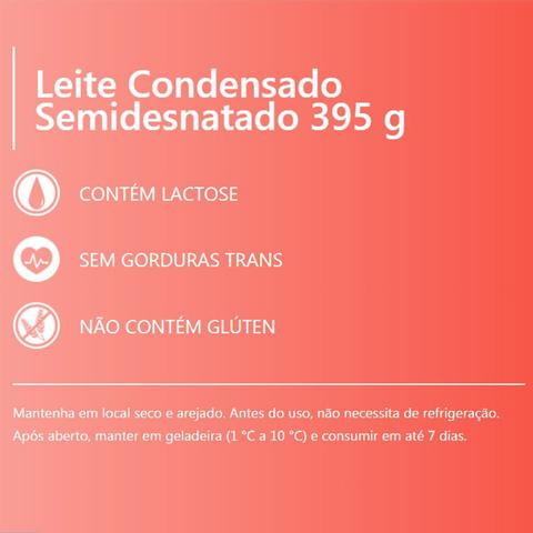 Imagem de Kit Leite Condensado Piracanjuba 395g Tetra Pak 6un