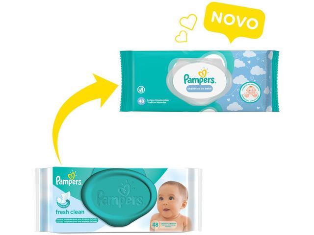 Imagem de Kit Lenço Umedecido Pampers Cheirinho de Bebê