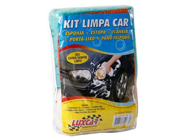 Imagem de Kit Limpeza para Carros 5 Peças