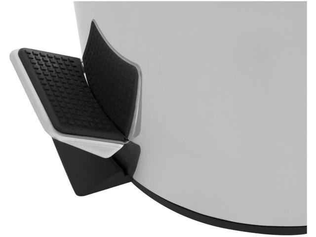 Imagem de Kit Lixeira Inox com Pedal e Tampa 3L e 12L