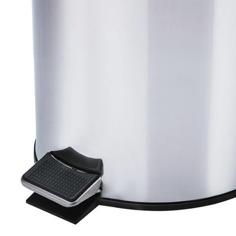 Imagem de Kit Lixeiras 5 Litros Em Inox - 2 Unidades