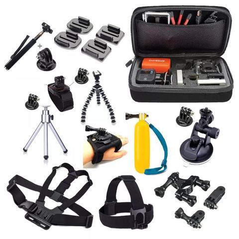 Imagem de Kit maleta acessórios action câmera 54 em 1
