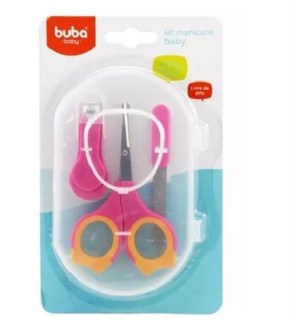 Imagem de Kit Manicure Baby 6140 Rosa  Buba
