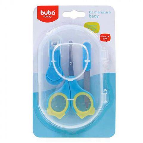 Imagem de Kit Manicure Baby  Azul  BubA