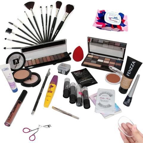 Imagem de Kit Maquiagem Completa Ruby Rose Brinde Máscara facial BZKT01