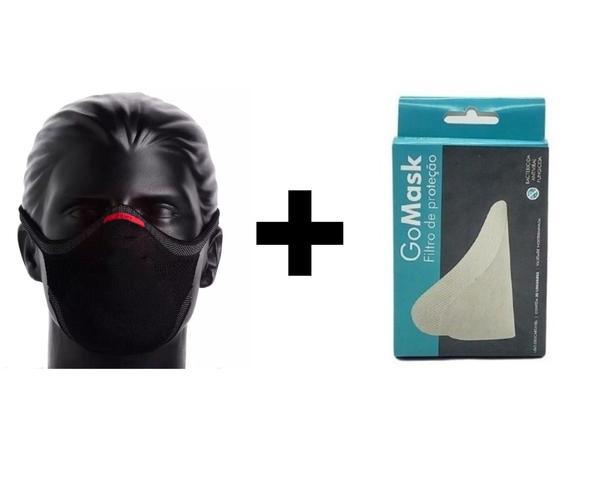 Imagem de Kit Máscara De Proteção 3d Knit + Filtro E96 30 Unidades - Corridaria