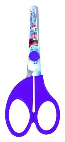 Imagem de Kit Material Escolar Frozen Lápis Apontador Tesoura Borracha