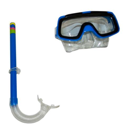Imagem de Kit Mergulho Máscara + Snorkel/ Respirador Infantil