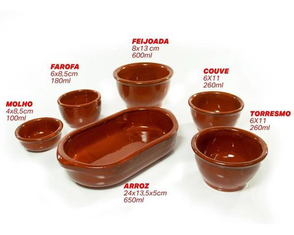 Imagem de Kit mesa feijoada serve até 3 pessoas
