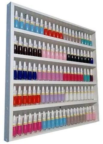 Imagem de KIT Mesa P/ Manicure+expositor+compartimento de esmaltes