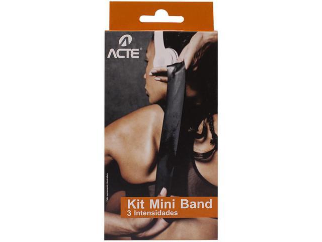 Imagem de Kit Mini Bands T71-N Acte Sports 3 Intensidades