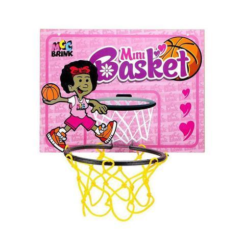 Imagem de Kit Mini Basket Tabela Cesta Bola Jogo de Basquete Brinquedo