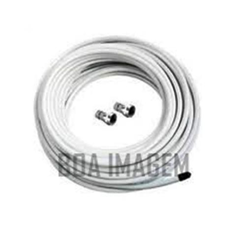 Imagem de kit Mini parabólica Claro Tv Pré-Pago Mercantil 2 Receptores Digital + Antena 60 cm lisa