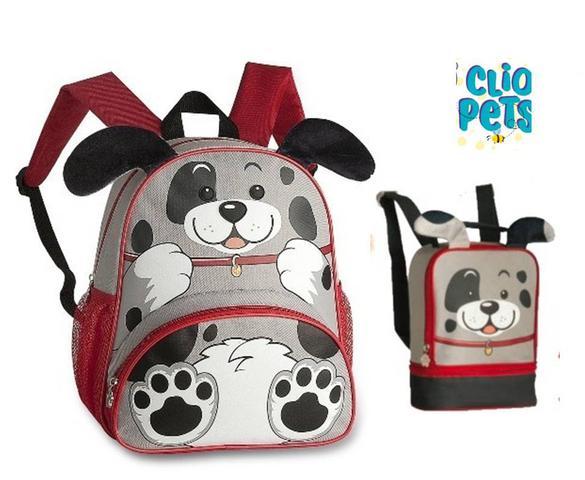 Imagem de Kit Mochila Infantil + Lancheira Animais Clio Pets Dalmata