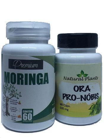 Imagem de Kit Moringa Oleifera Premium e Ora Pro-Nobis