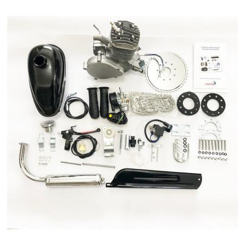 Imagem de Kit Motor 80cc  Bicicleta Kit Bike Motorizada 2t Importway Cinza