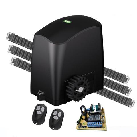 Imagem de Kit Motor Para Portão Eletrônico Deslizante Rcg Slider-PL Maxi 1/4Hp