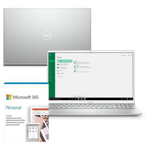 "Ultrabook - Dell I15-5502-m10sf I5-1135g7 2.40ghz 8gb 256gb Ssd Intel Hd Graphics Windows 10 Home Inspiron 15,6"" Polegadas"