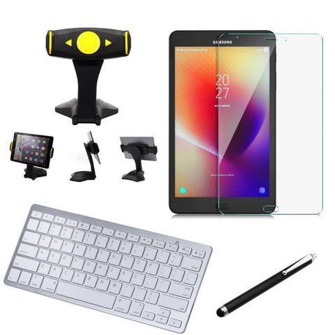 Imagem de Kit Office Samsung Galaxy Tab A 8.0 T380/T385 Suporte + Teclado + Película + Caneta - Armyshield