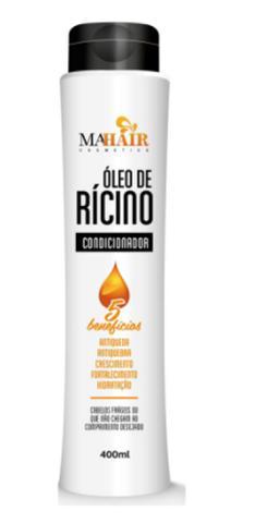 Imagem de Kit óleo de rícino crescimento completo kit 3 produtos shampoo - condicionador - máscara mahair