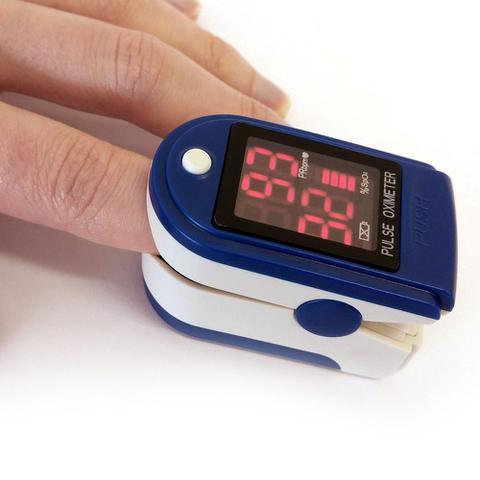 Imagem de Kit Oximetro e Termômetro Digital Saturação Oxigênio e Febre