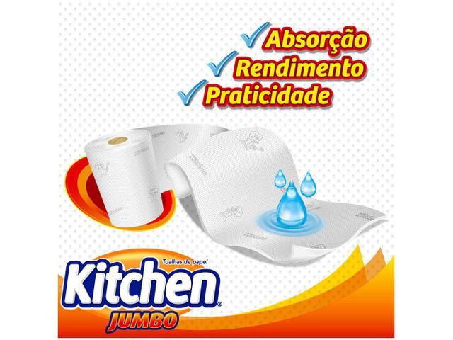 Imagem de Kit Papel Toalha Folha Dupla Kitchen Jumbo