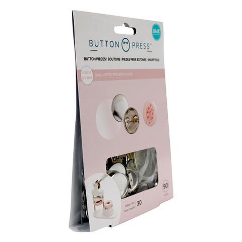 Imagem de Kit para Botons WeR Memory Keepers Button Press Pack Small 25 mm 90 Peças  661096