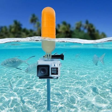 Imagem de Kit para câmeras de ação Go Pro  Sport Cam Hd e outras câmeras de ação com cinta peito