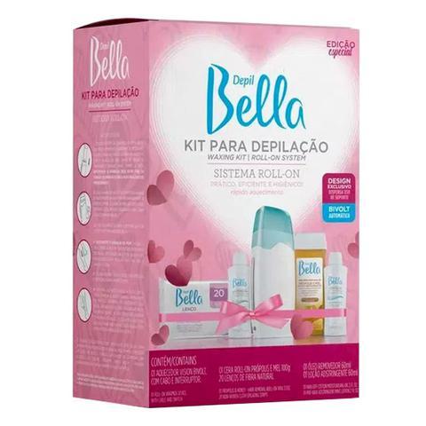 Imagem de Kit Para Depilação Roll-on  Depil Bella