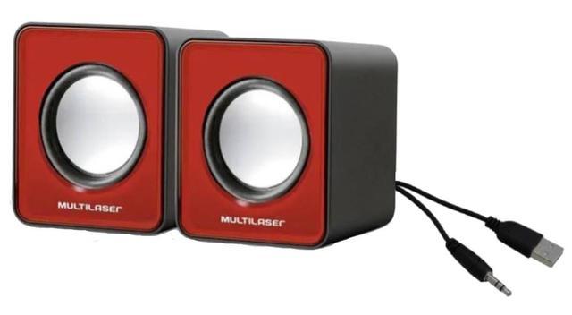Imagem de Kit para seu computador PC e Notebook Mini caixa de som compacta e teclado numérico e mouse óptico