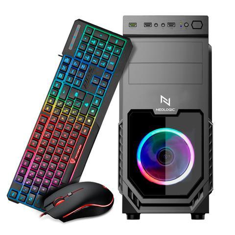 Imagem de KIT - PC Gamer Neologic Motospeed NLI82173 AMD Ryzen 3 2200G 8GB (Radeon Vega 8 Integrado) SSD 120GB