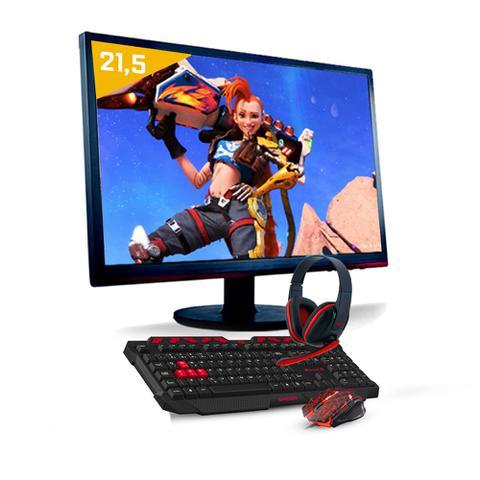 Imagem de Kit pc gamer neologic nli81098 amd athlon 200ge (geforce gtx 1050 2gb)8gb+1tb+monitor 21,5