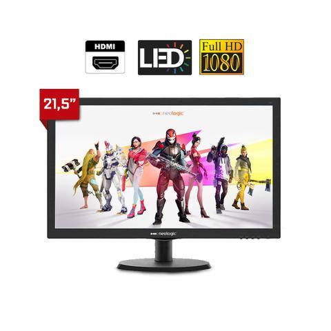 Imagem de Kit PC Gamer Neologic NLI81540 Ryzen 5 2400G 8GB (RX 570 4GB) SSD 240GB + Monitor 21,5