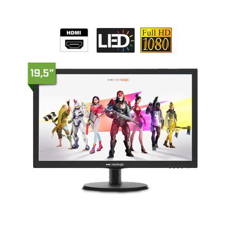 Imagem de Kit PC Gamer Neologic NLI81549 Ryzen 5 2400G 8GB (RX 570 4GB) SSD 240GB + Monitor 19,5