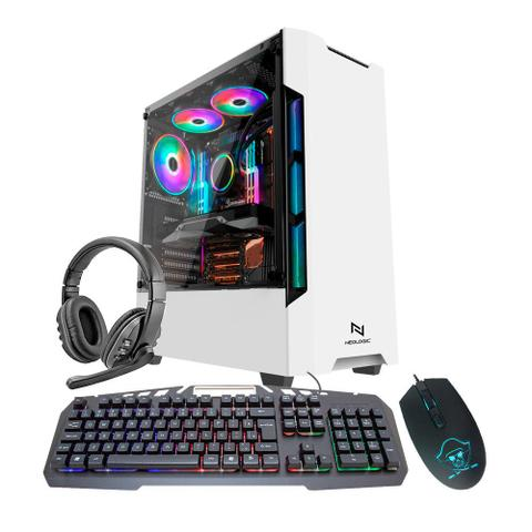 Imagem de KIT - Pc Gamer Neologic NLI82108 Ryzen 3 2200G 8GB (Radeon Vega 8 Integrado) SSD 240GB