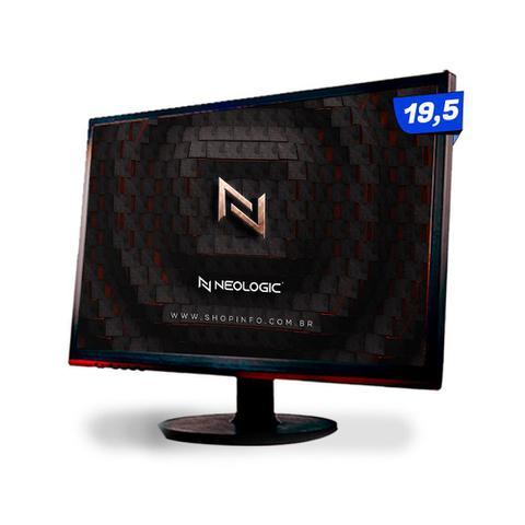 Imagem de KIT - Pc Gamer Neologic NLI82109 Ryzen 3 2200G 8GB (Radeon Vega 8 Integrado) SSD 240GB + Monitor 19,5